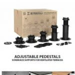 technical data adjustable pedestals